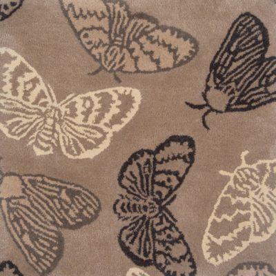 In-Flight Butterfly Rug Design by Jamie Stern